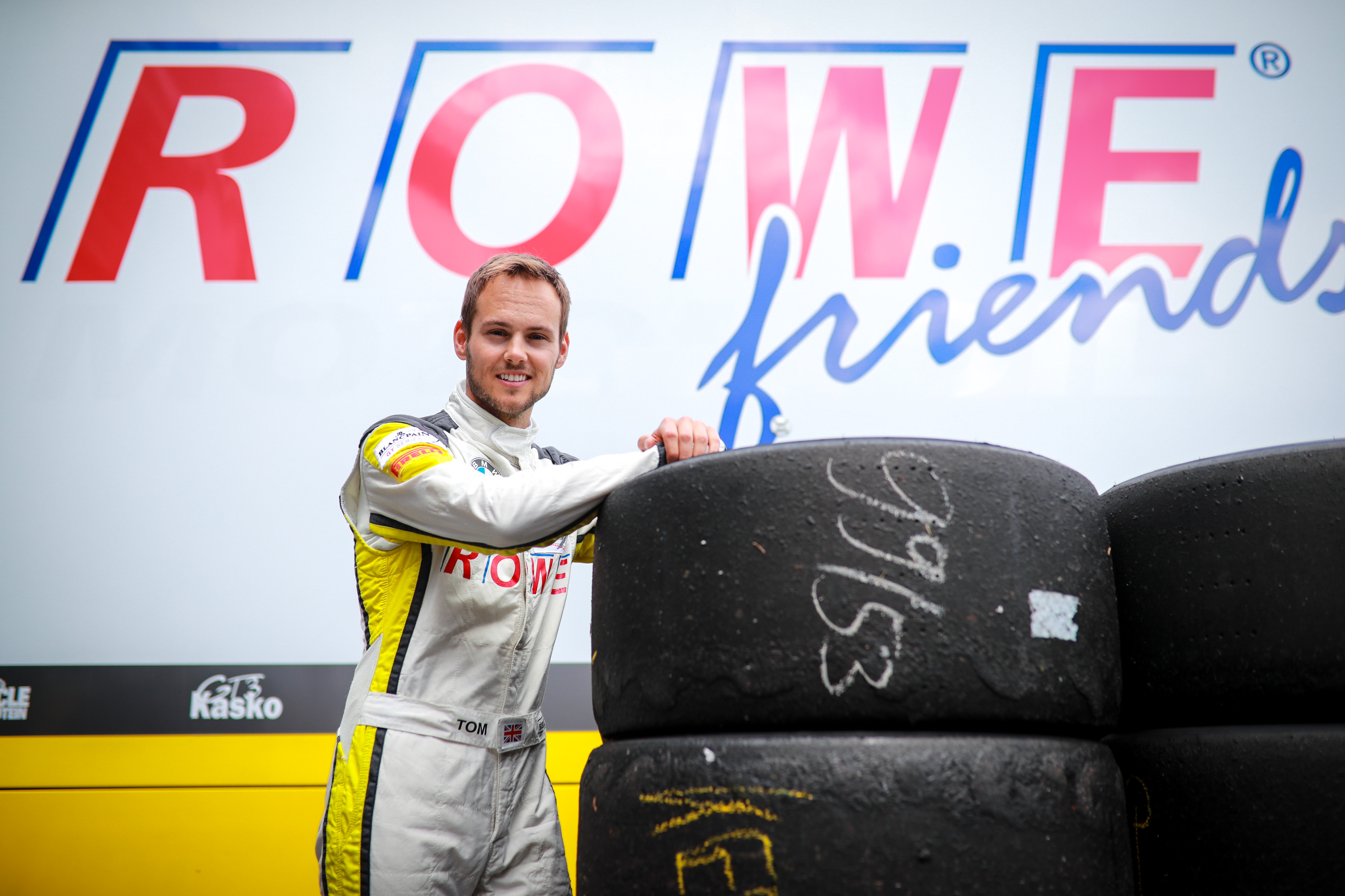 Tom Blomqvist 24h Spa Test 17