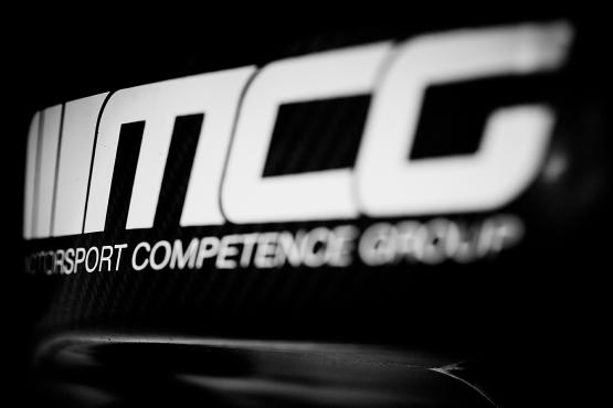 MCG Schriftzug Motorsport Competence Group